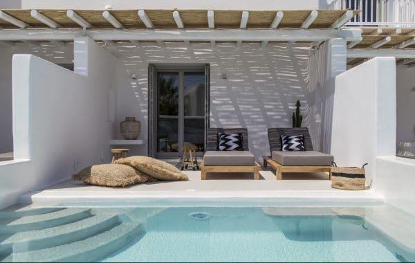 Suite d'été avec piscine privative