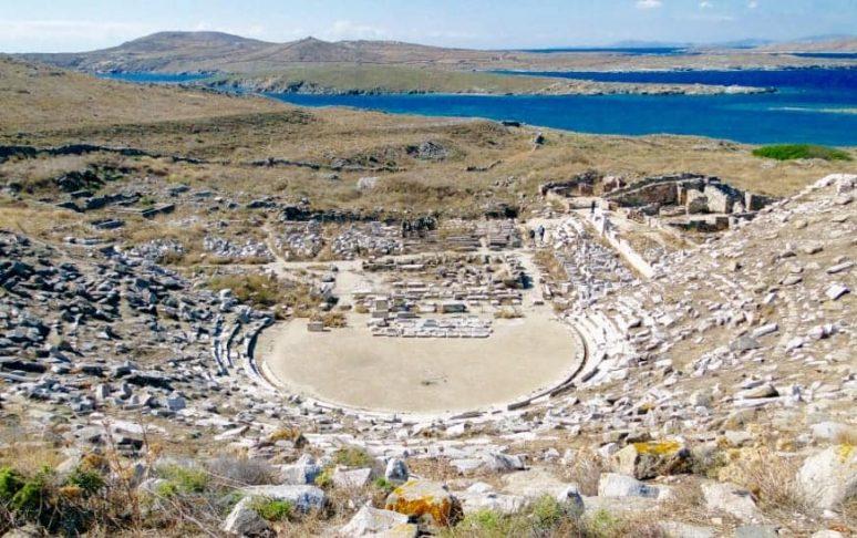 L'île de Délos, Mykonos