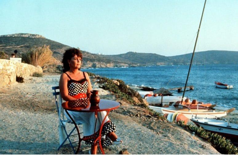 Dans la ville de Mykonos, en Grèce, avez-vous une idée de l'endroit où Shirley Valentine a été filmé ?
